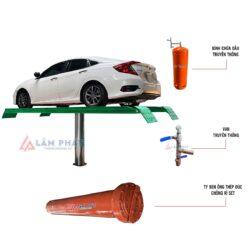 cầu nâng 1 trụ mặt bàn nổi việt nam do Lâm Phát sản xuất LP-5001